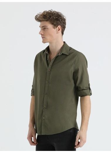 Loft Uzun Kollu Gömlek Haki
